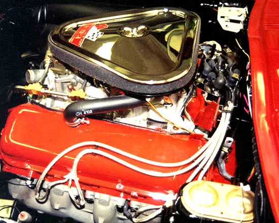 AMT Racing Engines -Tri Power 427 Corvette